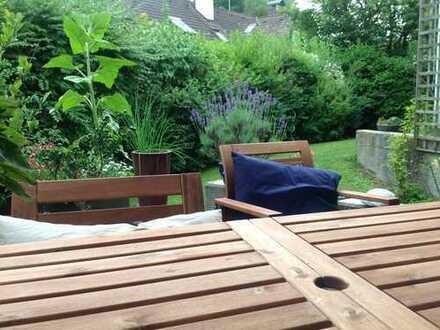 Helle ruhige Wohnung in Harlaching mit Garten und Terrasse