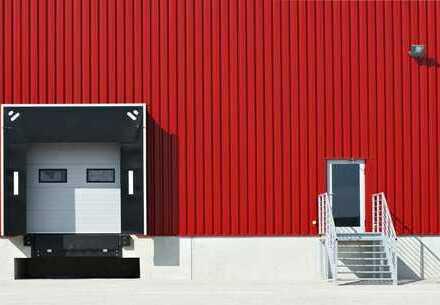 Ca. 1.570 qm Lager / Logistik | 4x Rampe | 8,80 m UKB !