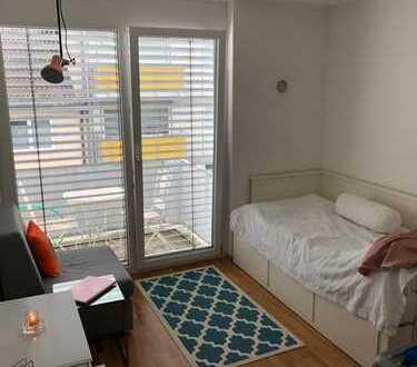1 Zimmer möbiliertes Lifestyle-Apartment in bestlage Moosach