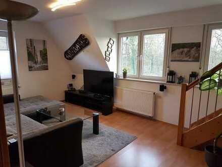 *Zwischenmiete* Vollmöblierte, gepflegte 4-Zimmer-Maisonette-Wohnung mit Einbauküche in Telgte