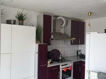 Gepflegte 3-Raum-Dachgeschosswohnung mit Balkon und Einbauküche in Illertissen