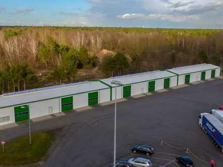Logistik-/Lagerhalle (teilbar in 3 Hallen) im GVZ Fürstenwalde direkt am Zollamt