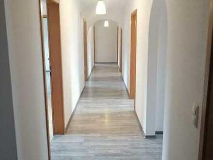 Erstbezug nach Sanierung: schöne 5-Zimmer-Wohnung/Gewerbe und Balkon in Memmingerberg