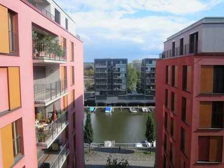 Wohnen am Westhafen, Mainblick inklusive