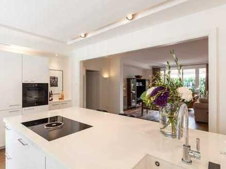 Df.-Oberkassel: Repräsentative 3 1/2-Raum-Wohnung mit großer Südterrasse