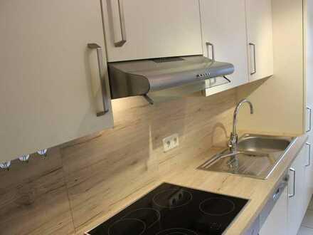 Gepflegte 2-Raum-Wohnung mit Einbauküche in Langensendelbach