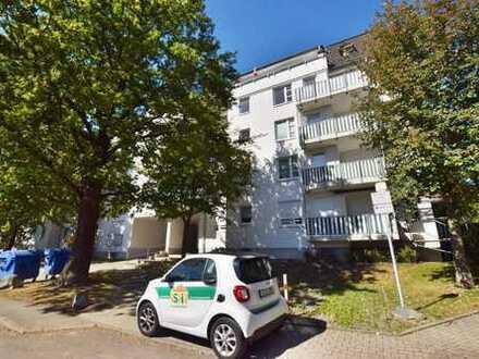 Langjährig vermietete Single-Wohnung mit TG-Stellplatz in Küchwald-Nähe!