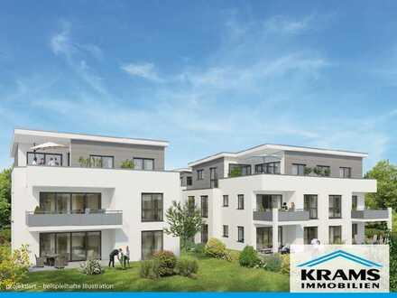 Viel Platz für die Familie! 4-Zimmer-Neubauwohnung mit großem Süd-Balkon