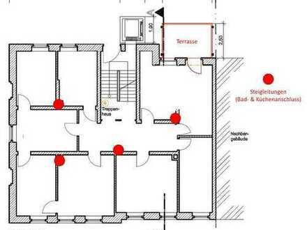 Haus im Haus Wohnung mit Gartenzugang !! bitte Sanierungskostenbeitrag von 500 Euro beachten