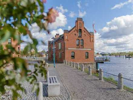 Exclusives Wassergrundstück direkt am Elbehafen