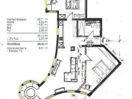 Neu Renovierte 2-Zimmer-Wohnung in Zentrumsnähe