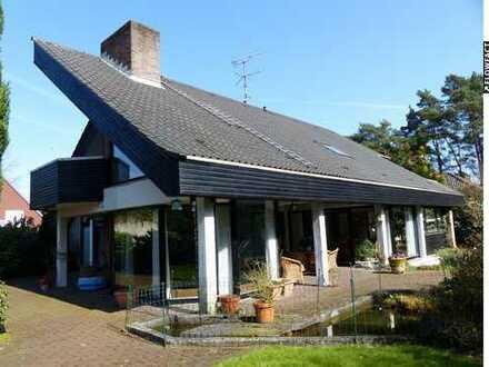 Sehr gepflegtes Architektenhaus in ruhiger Wohnlage von Lingen!