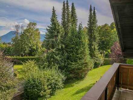 Charmante 3-Zimmer Wohnung im grünen Herzen von Bad Wiessee