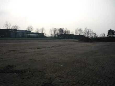 Außenlager mit Gebäudeflächen