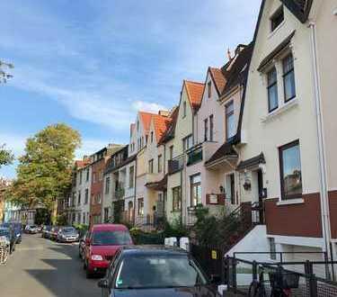Altbremer Haus mit Garten, Dachterrasse (Süd), 2 Balkone, Garage