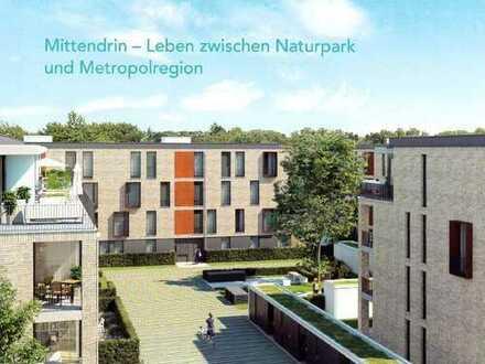 Exklusive 4-Zi. Penthouse Wohnung mit großer Terrasse in bevorzugter Lage