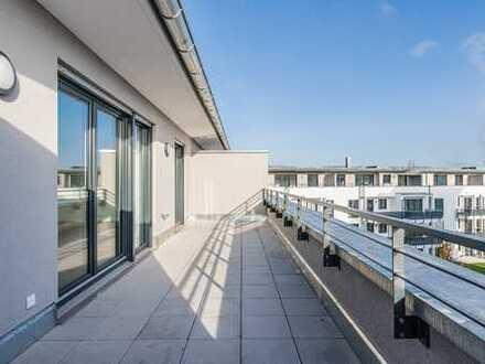 Erstbezug in bester Lage! Lichtdurchflutete Penthouse-Wohnung mit toller Dachterrasse!