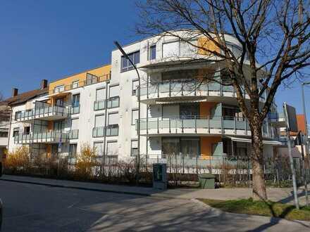 Neuwertige pfiffige Dachterrassen - Wohnung in moderner Wohnumgebung von Karlsfeld.