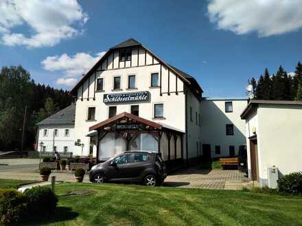 """Gaststätte und Pension """"Schlösselmühle"""""""