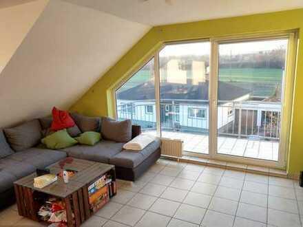 Schöne 3-Zimmer-DG-Wohnung mit Balkon in Andernach