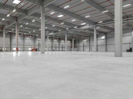 Top-Lage! | Ca. 20.500 m² hochmoderne Lagerfläche zu vermieten | 069 550 112