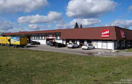 Gewerbehalle Lager Ausstellungsfläche in hochfrequentierter 1A-Lage in Schwabmünchen