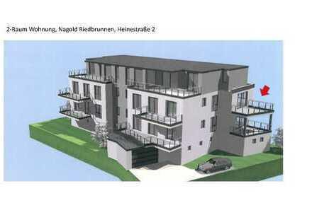 Zentral Gelegene 2-Zimmer Wohnung Im Riedbrunnen Nagold
