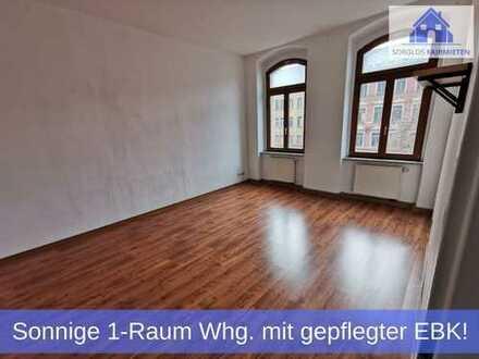 Sonnige 1-Raum Wohnung mit hellen Räumen & gepflegter Einbauküche mitten im Zentrum!