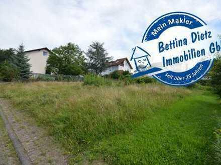 DIETZ: Baugrundstück für 1 bis 2 Familienhaus in grüner Lage von Elsenfeld Eichelsbach