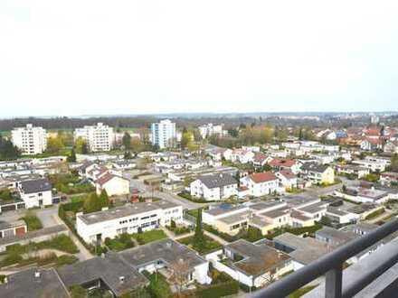Bezugsfreie 2-Zimmer-Wohnung mit einzigartigem Weitblick im Wohngebiet Mittelberg in Biberach