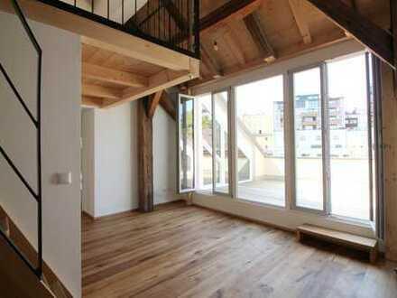 Erstbezug: Moderne Dachterrassenwohnung in zentraler Lage von Traunstein