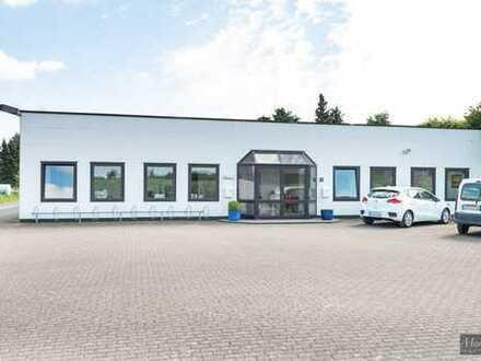 Bürofläche, Lagerhalle und Produktion im Gewerbepark von Bocholt-Suderwick.