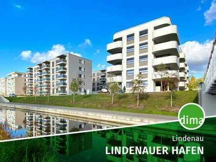 Neubau am Lindenauer Hafen | Wohnen am Wasser | Moderne Architektur und Ausstattung
