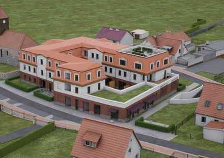 Praxis- / Büroeinheit mit großem Keller und Dachterasse. Innenausbau nach Mietervorstellungen.