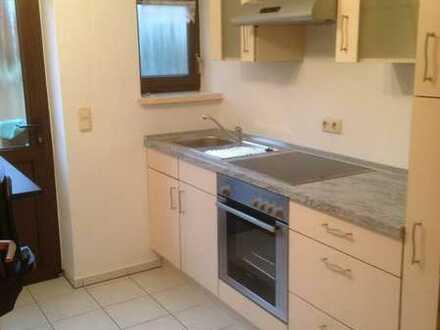 Schöne helle Kellerwohnung mit 2 Zimmern und Einbauküche in Unterbrunn