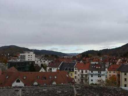 Penthouse-Büro mit Blick über die Freiburger-Innenstadt