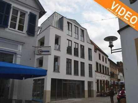 Modernes WOHNEN nahe dem Emsufer! Hochwertige Mietwohnung mit Loggia in der Innenstadt von Rheine