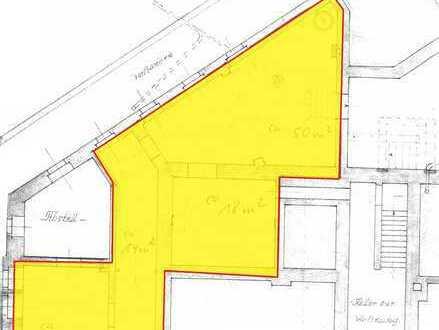 100 m² für Lager / Werkstatt / Atelier mit eigenem Eingang!