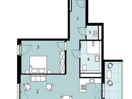 Großzügige 2-Zimmer-Wohnung mit Balkon!