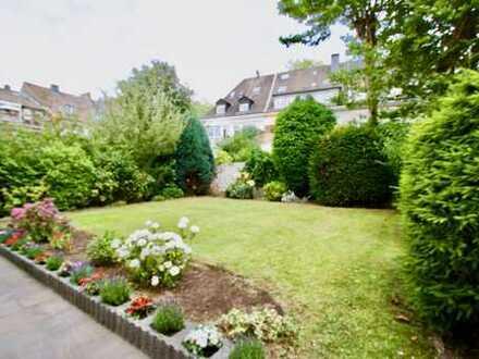 Sahnestück in Rüttenscheid! Top sanierte Altbauwohnung mit Garten in bester Wohnlage