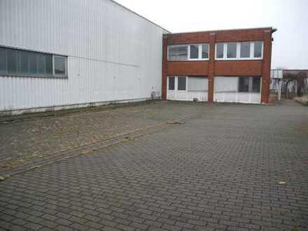 Lagerhalle/Produktion mit Bürokomplex