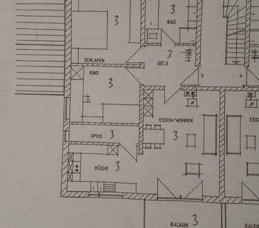 Helle 3 Zimmer-Wohnung mit großzügigem Balkon
