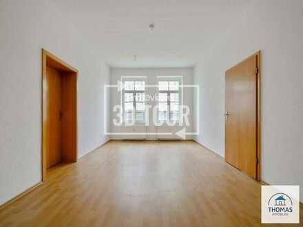 Renovierte 2-Raum-Wohnung im Stadtzentrum von Sebnitz