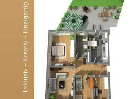 Auf die Lage kommt es an! Erdgeschosswohnung mit eigenem Gartenanteil, 4 Zimmer auf 103 qm
