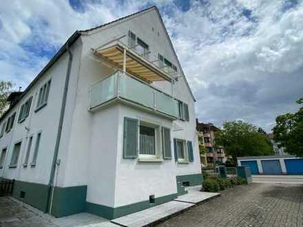 renovierte , lichtdurchflutete 5 Zimmer Wohnung