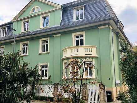 Erstbezug nach Sanierung: 3-Zimmer-Hochparterre-Wohnung mit Balkon & Gartennutzung in der Weststadt