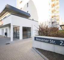Wohnen über den Dächern von Halle- barrierearme 2-Raumwohnung mit Sonnenbalkon