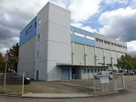 Produktions- /Lagerhalle mit Büroetage und Wohnung!