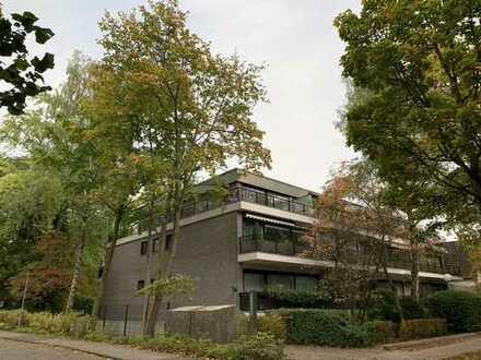 Seltene Gelegenheit! 2-Zimmer-Penthouse-Wohnung mit Dachterrasse in Hamburg-Marienthal