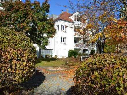 3-Zimmer Ergeschosswohnung mit Terrasse und Gartenanteil